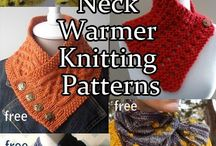 Neck warmers and scarves