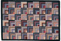 Hooked Rugs Inspiration / by Judy Cox