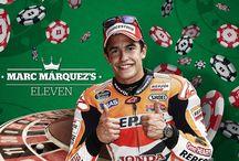 1st podium Marc Marquez 2014