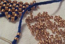 Hafty, tkaniny / Embroidery, textiles