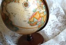 Karten und Globen