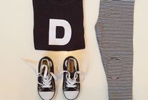 PS: Be You kids / A new Dutch brand with monochrome kids shirts. All shirts are unique, hand made and have a letter on top! There are also new bags available, as back pack or storage bag