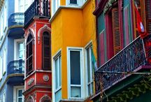Colours with architecture
