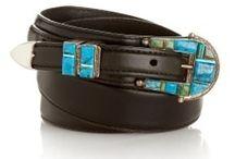 Turquoise belt buckles ,Jessie western / Turquoise