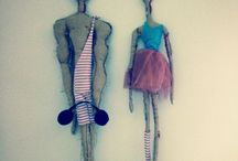 Dancing freaky Dolls * Private label / So.la indipendent arts label PRIVATE LABEL *all made with LOVE!