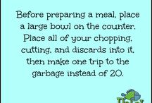 Time-Saving Tips / Tips on how to do things efficiently to save time in your everyday life.