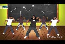 bewegen in de klas / lekker dansen