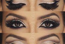 Bellydance makeup