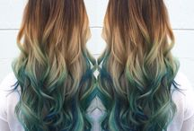 ༻ hair colours // styles ༺