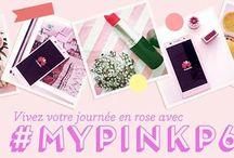 #MyPinkP6Day / Vivez votre journée en rose avec #MyPinkP6Day #rose #fashion #concours #blogueuse #pink #telephone #AscendP6 #Instagram #photo