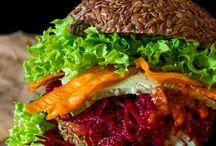 Raw burger (low fat)