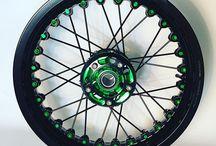 Kineo custom spoke wheels
