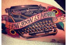 Tattoo's are art that lastest forever / I love tattoo's I think they always say something abut a persons life their ups, their downs and all the fun stories in between. / by Jessica Pettit-Rasor