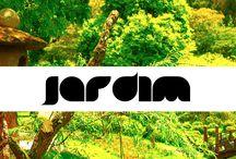Jardim / Espaço planejado, normalmente ao ar-livre, para a exibição, cultivação e apreciação de plantas, flores e outras formas de natureza.