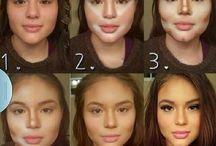 Make up: Face / como adecuar la cara