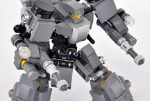 LEGO Robots, Mecha and Ships