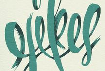 Design: Lettering / by Katie MacLennan