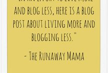 The Runaway Mama / A parenting blog for all of the Mamas out there who have a small bag packed by the front door just in case.  Happy reading.