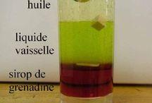 Sciences expériences