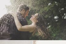 Rainy photoshoot