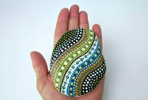 Painted rocks / by Becky Stephanishen