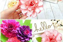 DIY - virágok