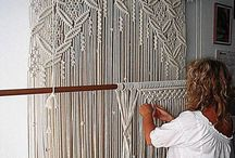 Macrame can be nice / Used to do it a lot in the '70. Later it became hasbeen. Still macrame can be so beatiful! Were's the curtain I made?