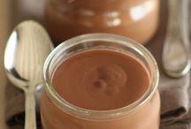 Recettes dessert / Crème chocolat