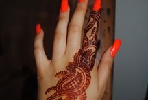Henna mendhi tattoos
