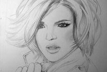 Graphite / Pencil Drawings