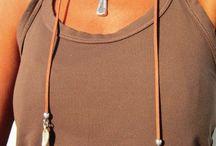 Leather jewelry