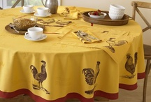 Table Linens / by Reba Tyrrell