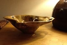 Wooden bowls / Hand carved, not turned,bowls and similar objects - enjoying the wood and discovering where it leads me the slow and gentle way, not thrashing it out on a machine in a couple of minutes