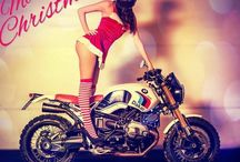 Merry christmas BMW R NineT / Merry christmas by Luismoto / BMW R NineT Paris Dakar