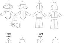 Patronen voor poppenkleding