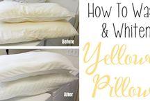 limpiar almohada