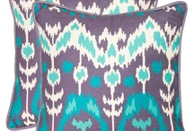 IKAT GEOMETRIC / inspiration for windblown effect, ikat-style, geometric designs from: native american (north/south), middle eastern, south east asia, japanese....etc