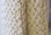 Chunky throw knitting pattern