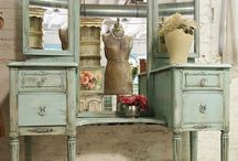 Vintage furniture / by Cathy Arlt