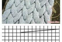 Косы вязание