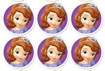 cumpleaños princesita sofia