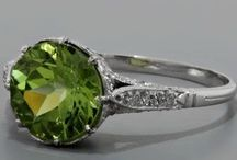 August Birthstone.... Peridot / I love my birthstone..... and pretty much anything that comes close to that color / by Kara Cowan-Davis
