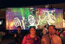 Tagtool at The Paseo / Markus Dorninger (aka maki) does a series of sessions and a workshop for The Paseo Festival in Taos, New Mexico.