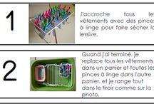Ateliers Montessori maternelle