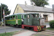 KISVASÚT / Kisvasutak Magyarországon. Régmúlt idők emlékét őrzik ezek a közlekedési eszközök.