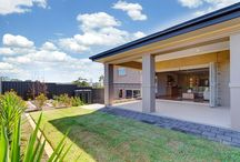 Skye display home / The Skye boasts a luxury split-level design with three separate living zones.