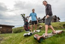 GolfBoards / A whole new way to experience the golf course!