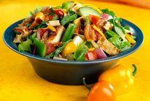 salades du monde