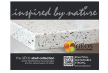 GEOS Recycled Glass Surfaces   Shell Collection