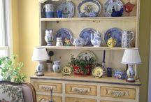 Прованс и кантри. / Интерьер и мебель в стилях прованс и кантри The furniture in the style of Provence